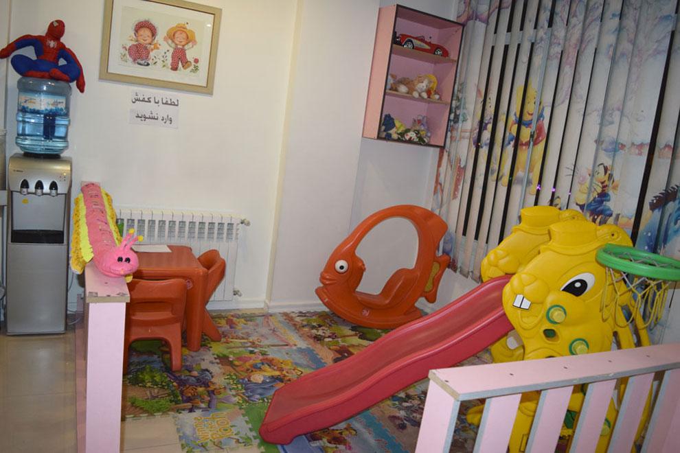 محیط مناسب کودکان در مطب دندانپزشکی اطفال